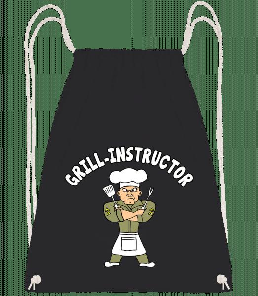 Grill Instructor - Turnbeutel - Schwarz - Vorn