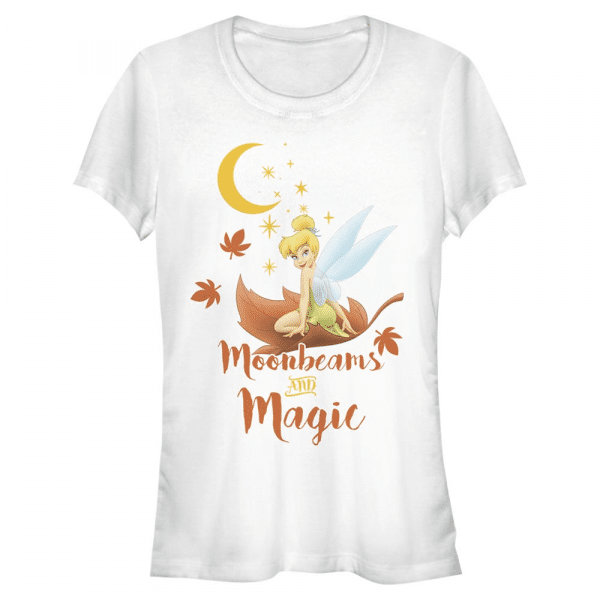 Moonbeams and Magic Tinker Bell - Disney Peter Pan - Women's T-Shirt - White - Front