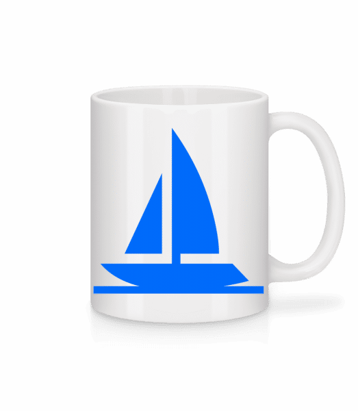 Sailboat - Mug - White - Front