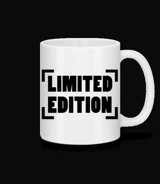 Limited Edition Logo - Tasse - Weiß - Vorn
