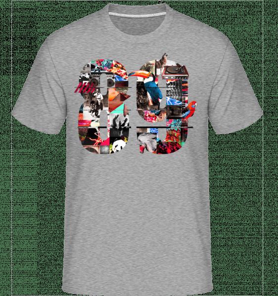 89 -  Shirtinator Men's T-Shirt - Heather grey - Vorn