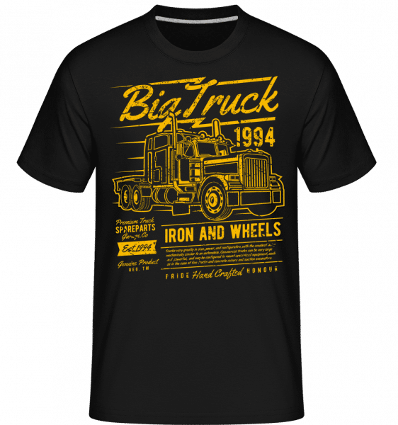 Big Truck 2 -  Shirtinator Men's T-Shirt - Black - Vorn