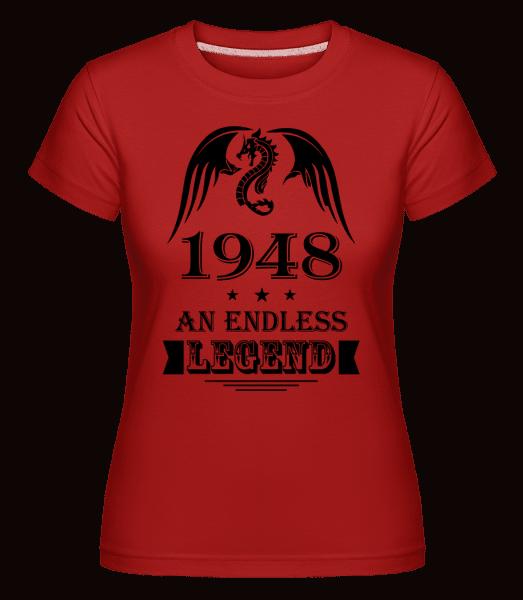 Endless Legend 1948 -  Shirtinator Women's T-Shirt - Red - Vorn