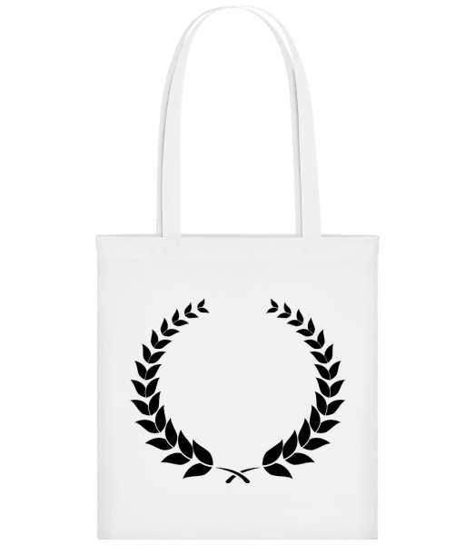 Laurel Wreath - Carrier Bag - White - Vorn