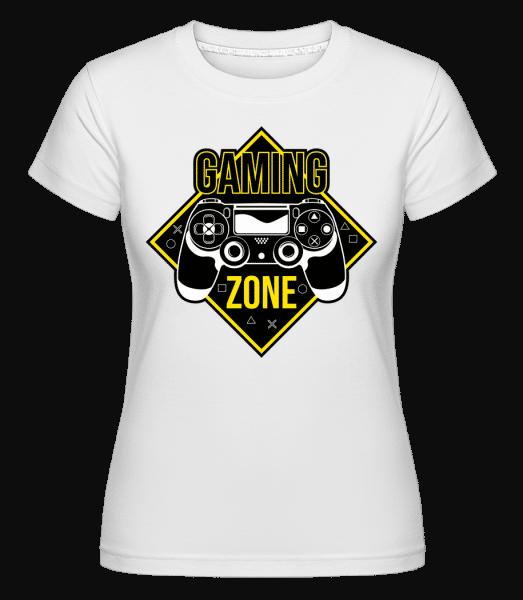 Gaming Zone -  Shirtinator Women's T-Shirt - White - Vorn