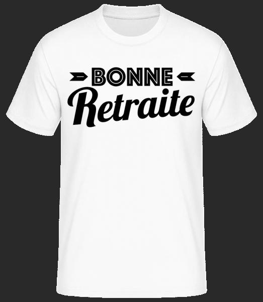 Bonne Retraite - T-shirt standard Homme - Blanc - Vorn
