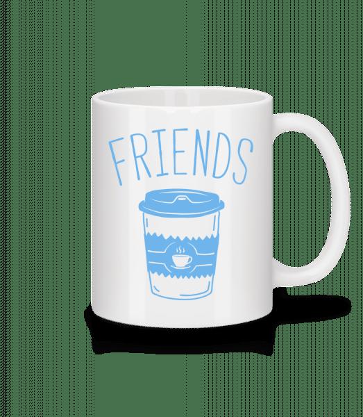 Friends Coffee - Mug - White - Front