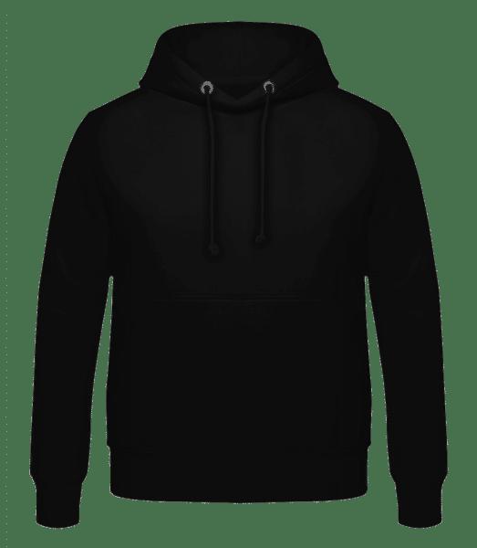 Pánska mikina - Čierna - Predné