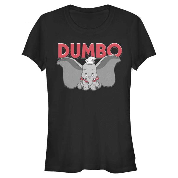 Dumbo is Dumbo - Disney - Women's T-Shirt - Black - Front