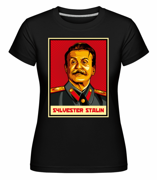 Sylvester Stalin -  Shirtinator Women's T-Shirt - Black - Vorn