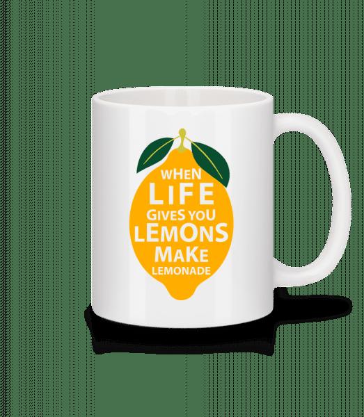When Life Gives You Lemons - Mug - White - Vorn