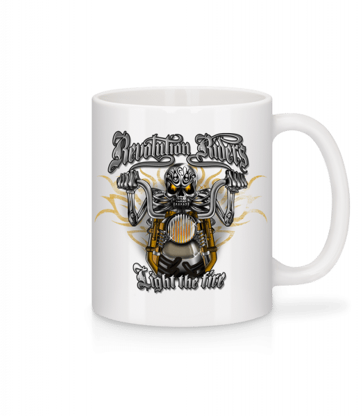 Revolution Riders - Mug - White - Vorn
