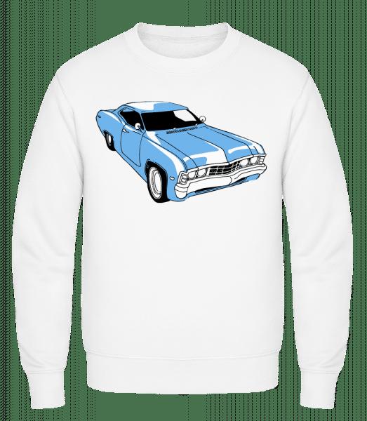 Car Comic - Sweat-shirt classique avec manches set-in - Blanc - Vorn