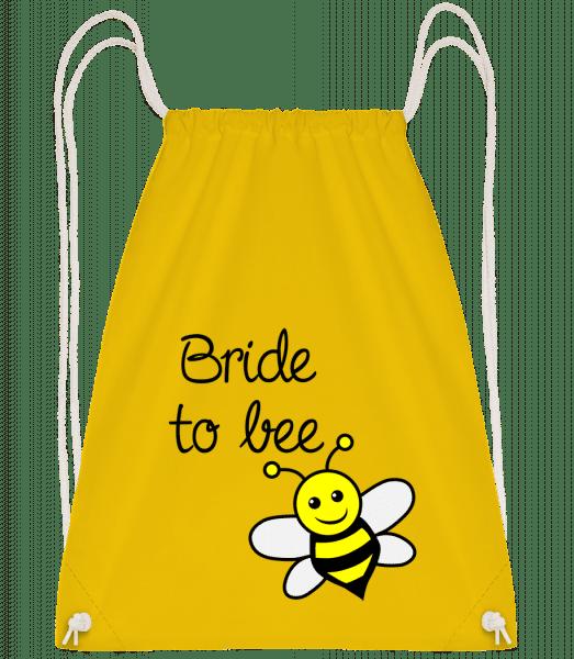 Bride To Bee - Turnbeutel - Gelb - Vorn
