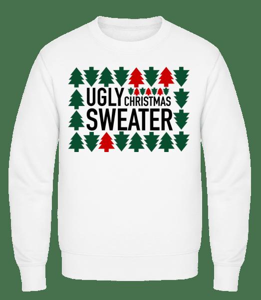 Ugly Christmas Sweater - Men's Sweatshirt - White - Vorn