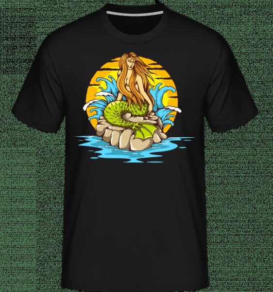Mermaid -  Shirtinator Men's T-Shirt - Black - Vorn