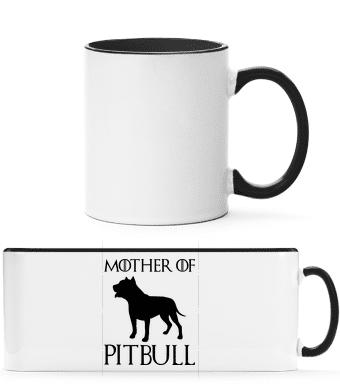Mother Of Pitbull - Two-toned Mug - White - Vorn