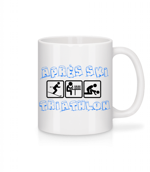 Après Ski Triathlon - Mug - White - Vorn