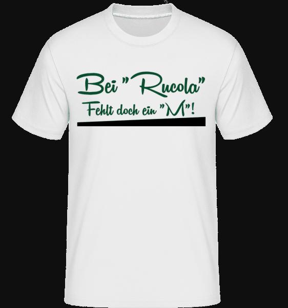 Rumcola - Shirtinator Männer T-Shirt - Weiß - Vorn