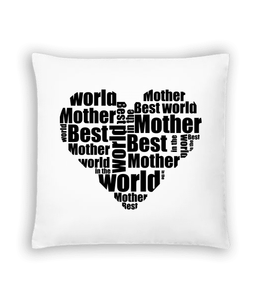 Best Mother - Kissen - Weiß - Vorn