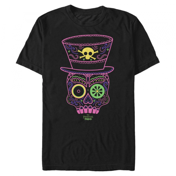 Tarot Facilier - Disney Villains - Men's T-Shirt - Black - Front