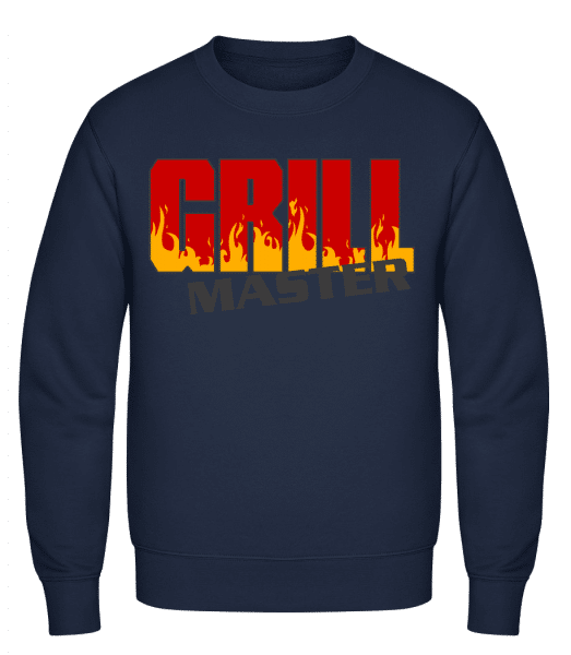 Grill Master - Classic Set-In Sweatshirt - Navy - Vorn