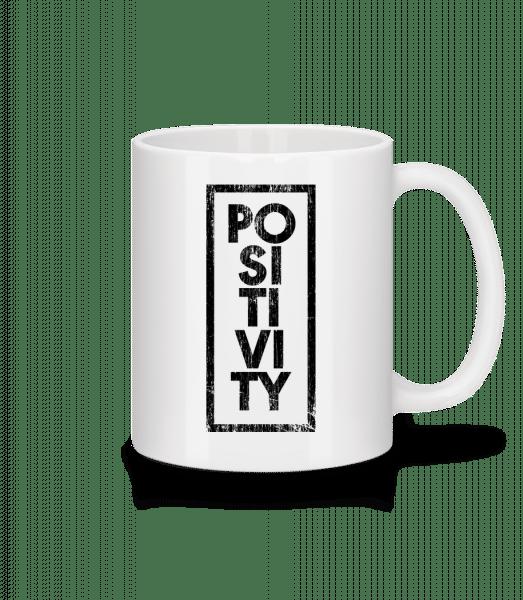 Positivity - Mug - White - Vorn