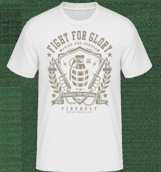 Grenade -  Shirtinator Men's T-Shirt - White - Vorn