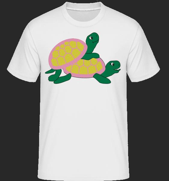 Sexy Turtles -  Shirtinator Men's T-Shirt - White - Vorn