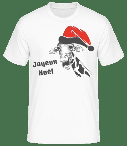 Joyeux Noël - T-shirt standard homme - Blanc - Devant