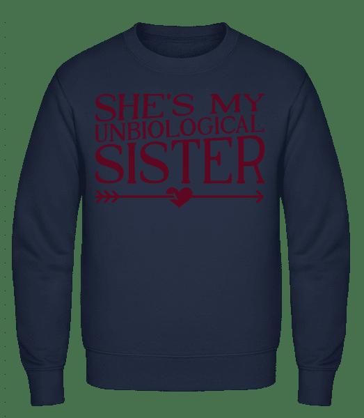 Unbiological Sister - Classic Set-In Sweatshirt - Navy - Vorn
