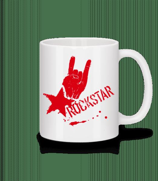 Rockstar Symbol - Tasse - Weiß - Vorn