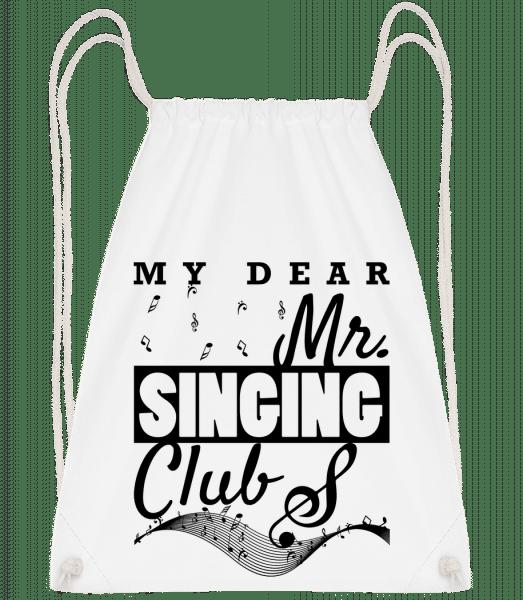 Mr Singing Club - Turnbeutel - Weiß - Vorn