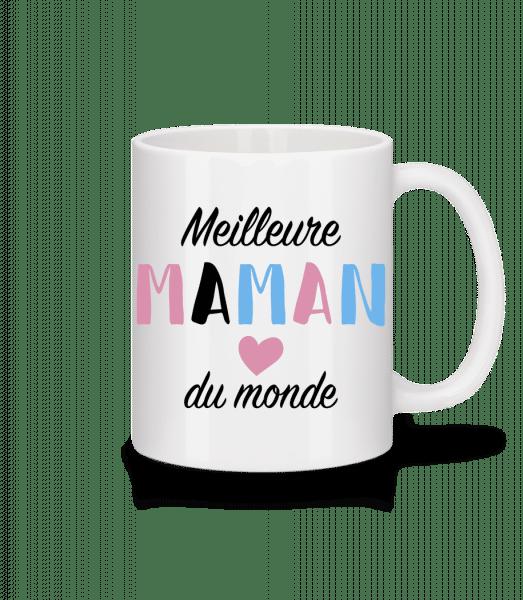 Meilleure Maman - Mug en céramique blanc - Blanc - Devant