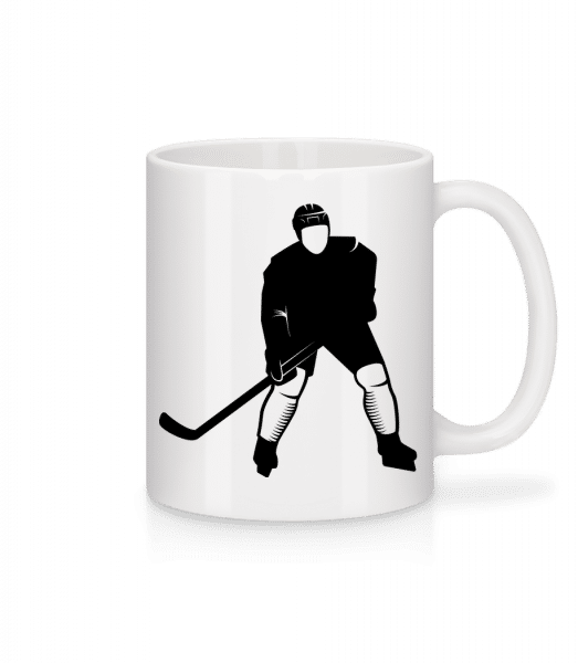 Ice Hockey Player - Mug - White - Front