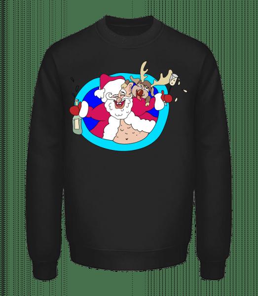 Drunken Christmas - Unisex Sweatshirt - Black - Vorn