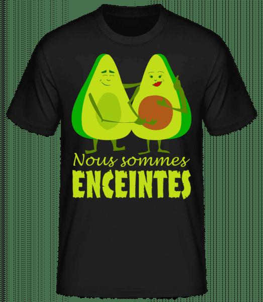 Avocado Enceintes - T-shirt standard homme - Noir - Vorn
