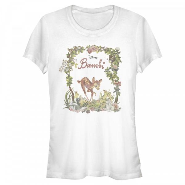 Bambi Nouveau - Disney - Women's T-Shirt - White - Front