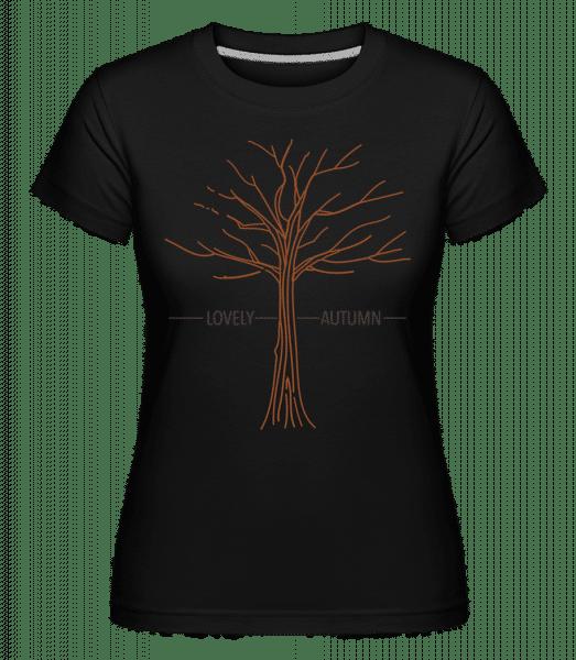 Lovely Autumn -  Shirtinator Women's T-Shirt - Black - Vorn