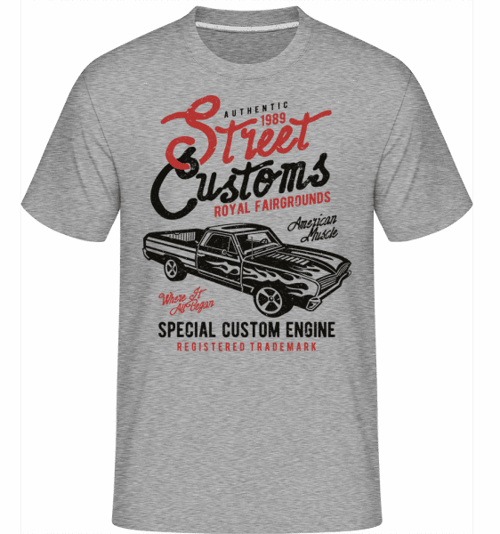 Street Custom -  Shirtinator Men's T-Shirt - Heather grey - Front