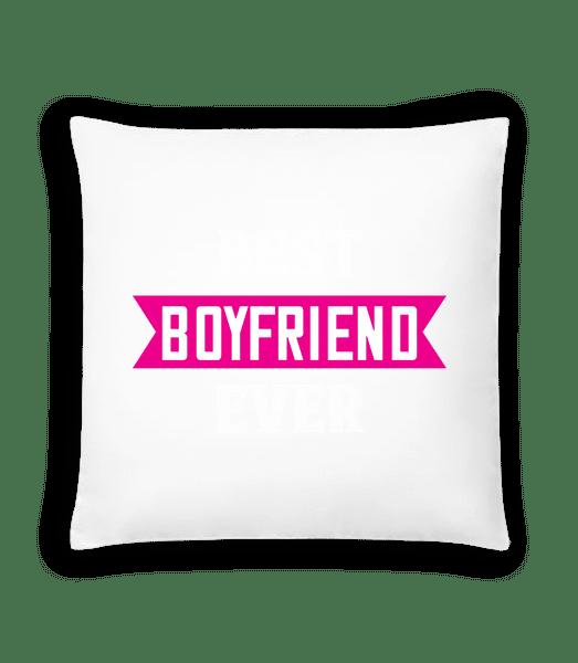 Best Boyfriend Ever - Cushion - White - Front
