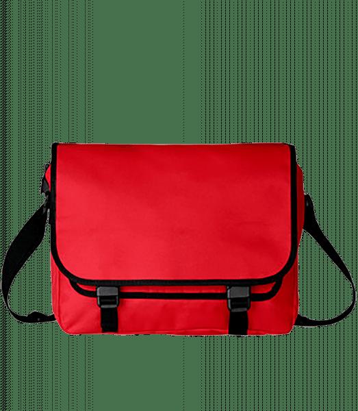 Umhängetasche - Rot - Vorn