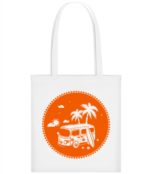 Holiday Icon Orange - Carrier Bag - White - Vorn
