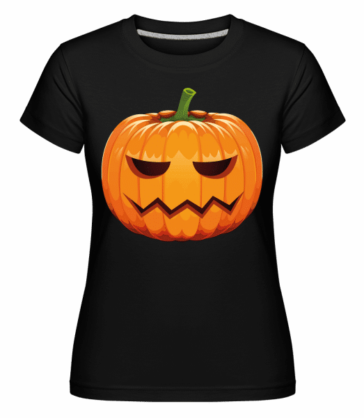 Mad Pumpkin -  Shirtinator Women's T-Shirt - Black - Vorn