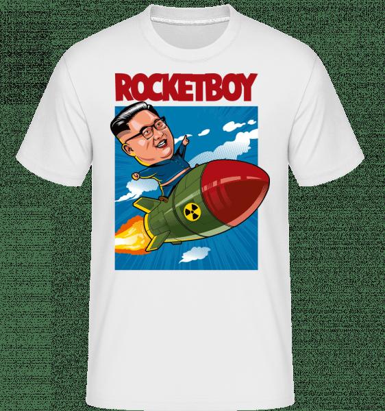 Rocketboy -  Shirtinator Men's T-Shirt - White - Vorn