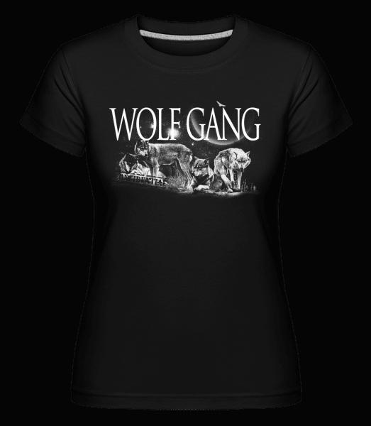 Wolf Gang -  Shirtinator Women's T-Shirt - Black - Vorn