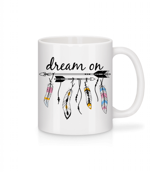 Dream On - Mug - White - Front