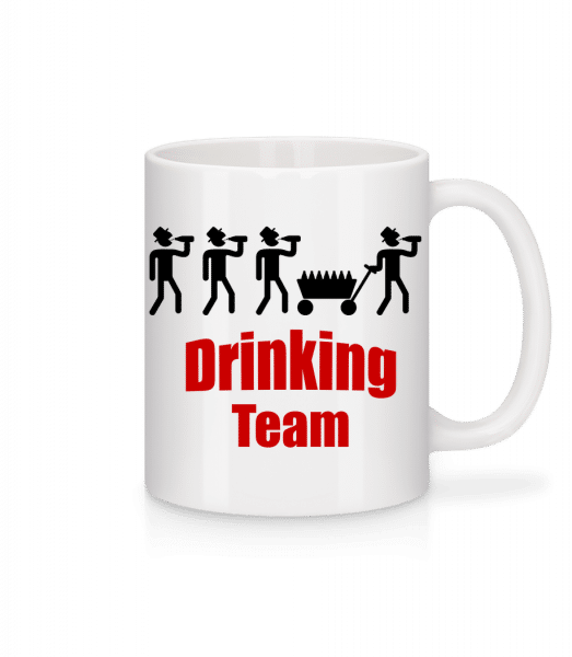 Drinking Team - Mug - White - Vorn