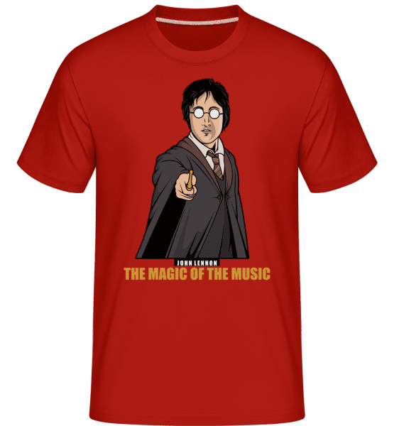 John Potter -  Shirtinator Men's T-Shirt - Red - Vorn