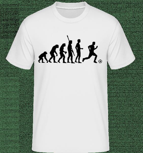Soccer Evolution - Shirtinator Männer T-Shirt - Weiß - Vorn